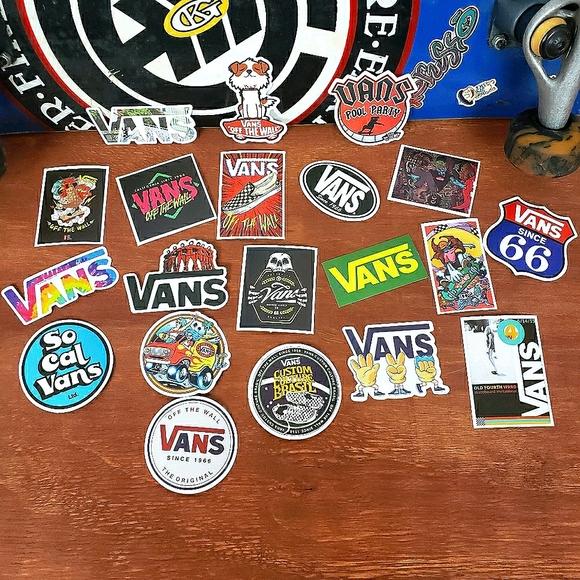 Vans Skateboard Stickers 20 Pieces